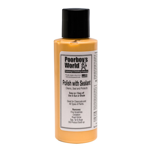Poorboy's World Polish with Sealant 4oz - Trial Size