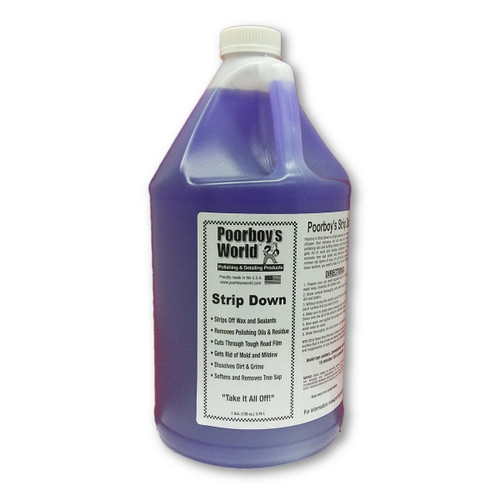 Poorboy's World Strip Down Wax Stripper Gallon