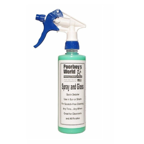 Poorboy's World Spray and Gloss 16oz w/Sprayer