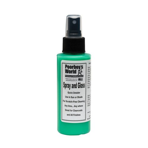 Poorboy's World Spray and Gloss 4oz - Trial Size