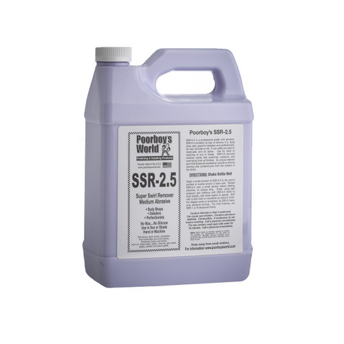 Poorboy's World SSR-2.5 Super Swirl Remover Gallon