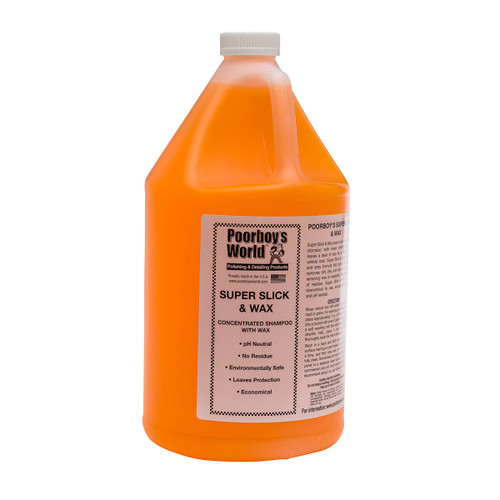 Poorboy's World Super Slick & Wax Gallon