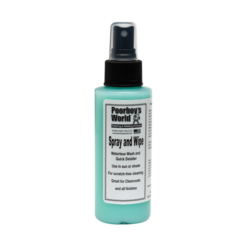 Poorboy's World Spray and Wipe 4oz - Trial Size