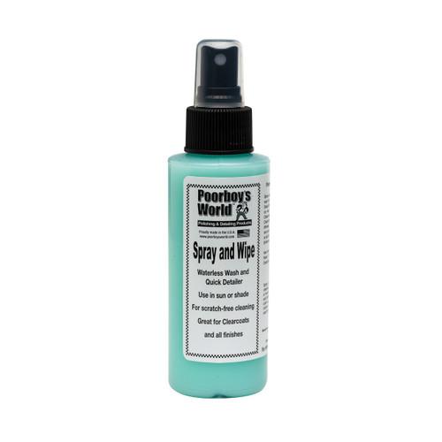 Poorboy's World Spray and Wipe 4oz - Trial Size