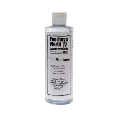 Poorboy's World Trim Restorer 16oz