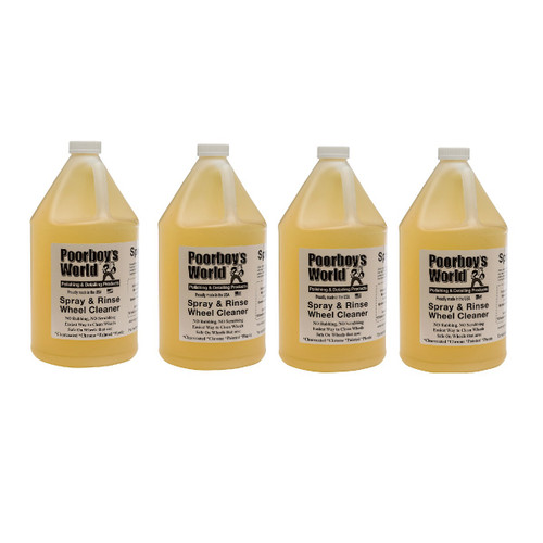 Spray & Rinse Wheel Cleaner Gallon - Case of 4