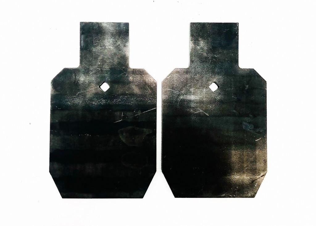2X - 1/3rd USPSA AR500 Target