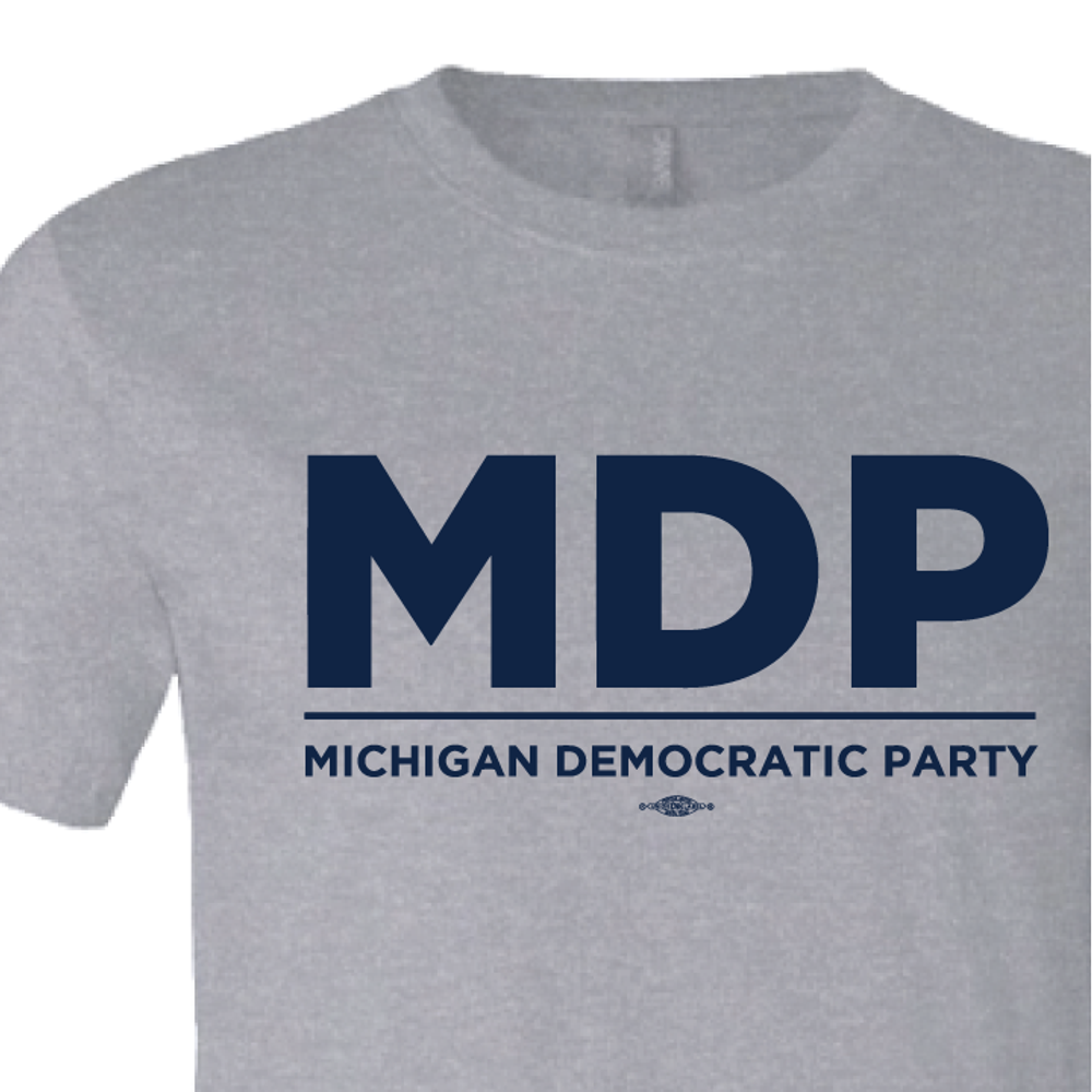 """""""MDP Official Logo"""" graphic (Athletic Heather Tee)"""