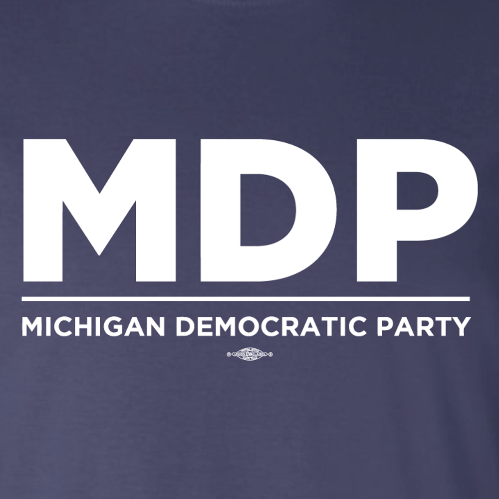 """""""MDP Official Logo"""" graphic (Navy Tee)"""