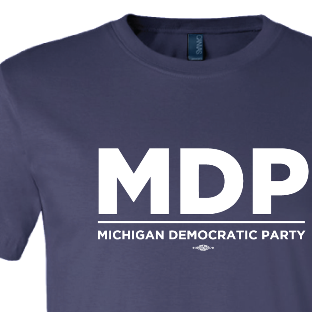 """MDP Official Logo"" graphic (Navy Tee)"