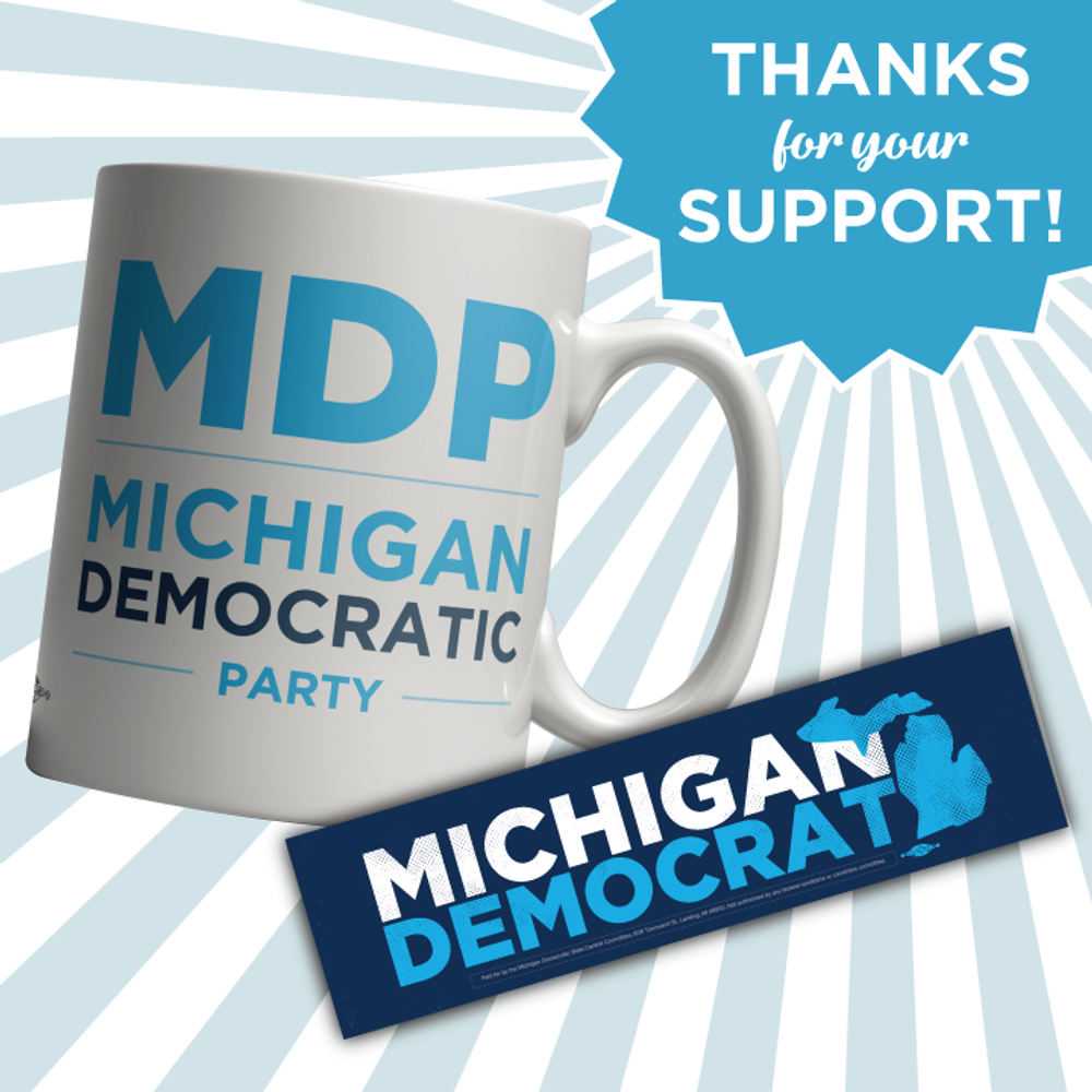 MDP Thank You Mug & Sticker!