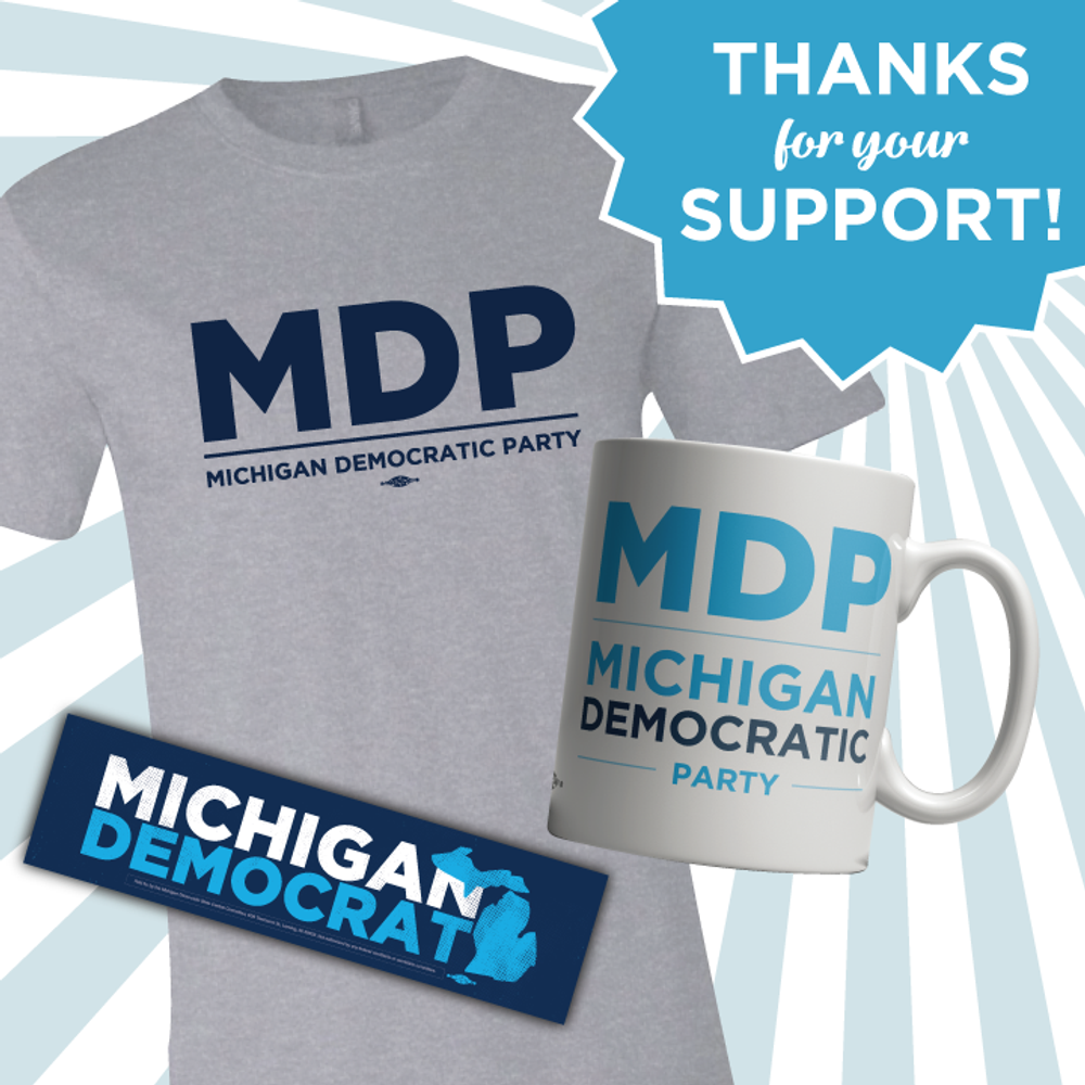 MDP Thank You T-Shirt, Mug & Sticker!