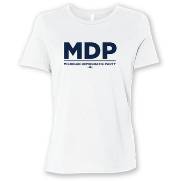 """MDP Official Logo"" graphic (White Tee)"