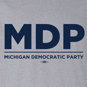 """MDP Official Logo"" graphic (Athletic Heather Tee)"