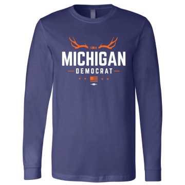 MDP Hunting Season (Navy Long-Sleeve Tee)