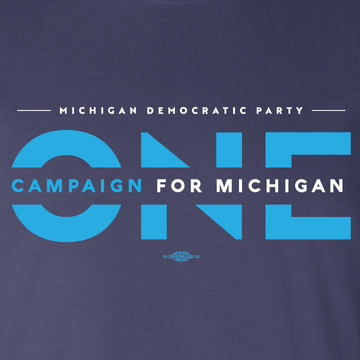 ONE Campaign for Michigan (Navy Tee)
