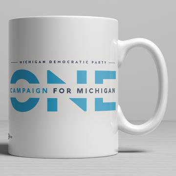 ONE Campaign for Michigan (11oz. Coffee Mug)