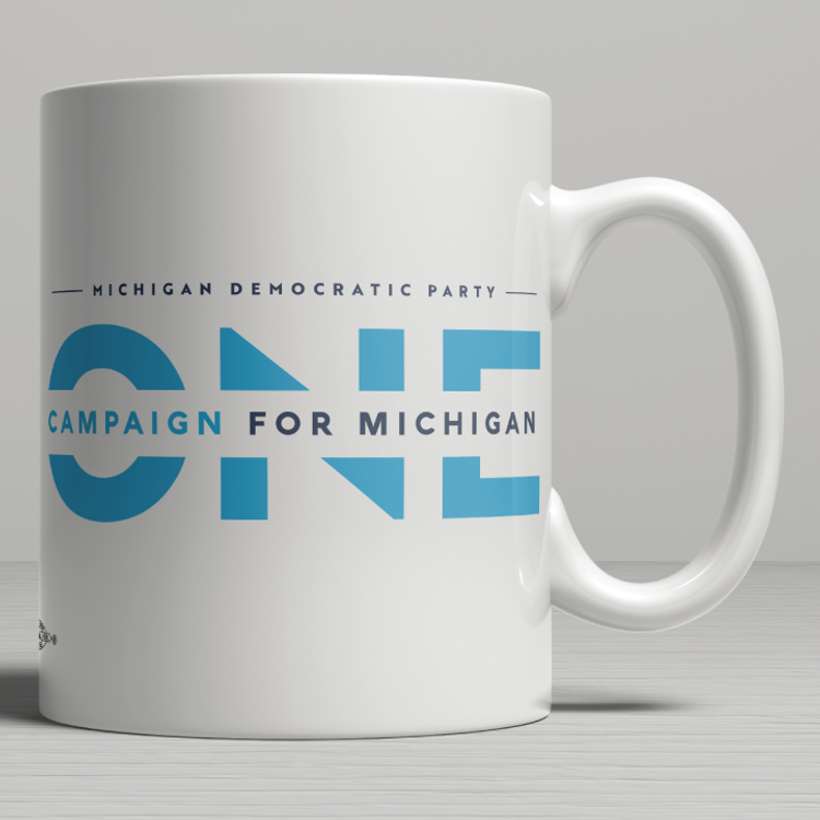 ONE Campaign for Michigan (11oz. Coffee Mug)