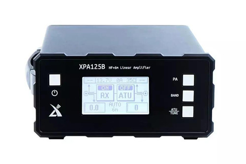 Xiegu XPA125B 100W HF Power Amplifier + Auto tuner ATU For X5105 X108G G1M G90 & Icom IC-705