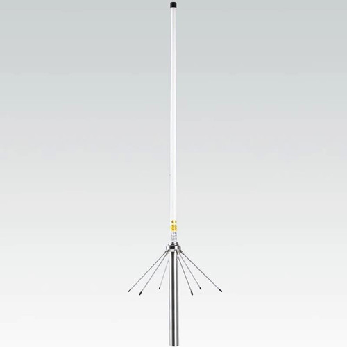 VHF / UHF Fibreglass Dual Band Base Antenna Great omni-directional atenna designed for small spaces. Perfect for any small space setup anywhere in condo, balcony, attic etc. This antenna will perform very well for any UHF / VHF Amateur Ham Radio spectrum either for analog or digital setup such DMR, DSTAR, YSF and small repeater application or personal use. Dxcanada, ve3xyd
