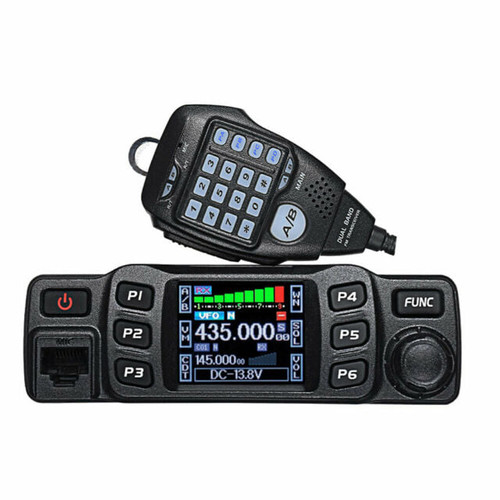AnyTone AT-778UV Dual Band Transceiver Mobile Radio VHF/UHF with programming cable