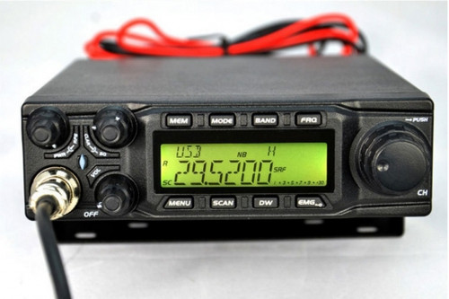 AnyTone AT-6666 10 Meter Amateur Radio for truck, with SSB(PEP)/FM/ AM /PA mode,High Power Output 15W AM,45W FM,60W SSB