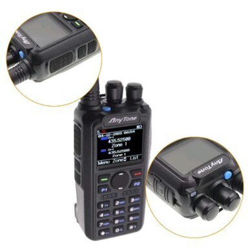 anytone at-d878uv plus digital dmr dualband handheld commercial radio with roaming and gps amateur ham radio toronto dxcanada ve3xyd bridgecom gpscentral radioworld powerwerx premier