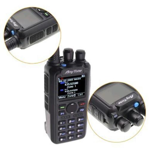 anytone at-d878uv plus digital dmr dualband handheld commercial radio with roaming and gps amateur ham radio toronto dxnada ve3xyd bridgecom gpscentral radioworld powerwerx premier