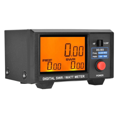 nissei dg-503 mfj-849 swr power meter designed for HF bands, VHF and UHF
