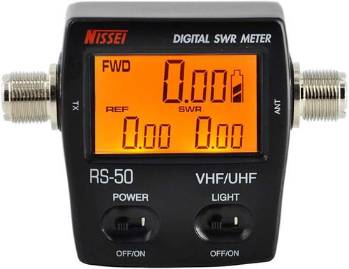 RS-50 Digital SWR/Watt Meter VHF/UHF 125-525MHz 120W
