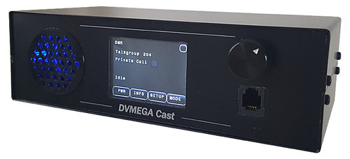 DVMEGA Cast AMBE3000 based Multimode IP radio for DMR, D-Star and Fusion. Based on standard DVMEGA AMBE3000 shield. Dxcanada Amateur Radio Canada