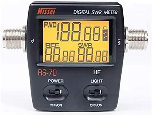 RS-70 Digital SWR/Watt Meter HF 1.6-60MHz 200W