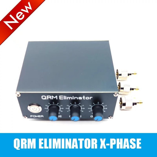 QRM Eliminator X-Phase (1-30 MHz) HF bands, SO-239 connectors included