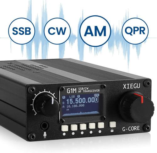 XIEGU G1M HF TRANSCEIVER QUAD BAND PORTABLE SDR QRP 5W SSB CW AM