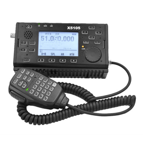 XIEGU X5105 OutDoor V3! QRP Version HF 5W Transciver with CE-19 included