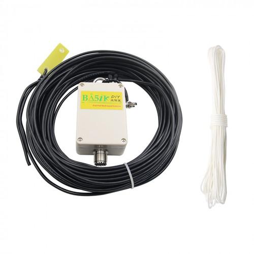 K4EDF End-Fed HF Half-Wave EFHW Antenna Four-Band 40m,20m,15m,10m, 100w pep