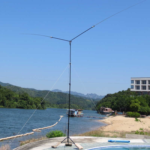 Outdoor Dipole PDSA-8 Multi Band (mini-buddipole) 100w Portable Antenna