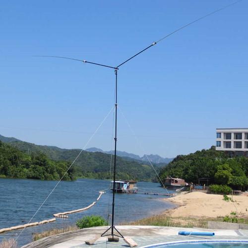 JPC-7 Dipole portable PDSA-8 Multi Band 100w Portable Antenna by BD7JPC