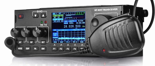 Recent RS-918 SSB HF SDR HAM Transceiver Transmit Power 10w, 0.5-30MHz V0.6 DF8OE's bootloader version 4.0.0 Compatible with MCHF