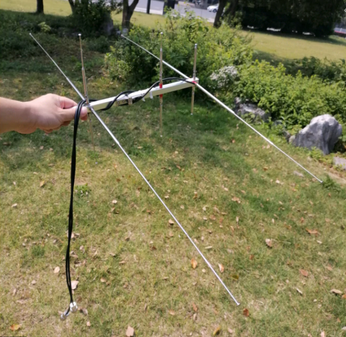 Satellite U/V Pocket Yagi, 6dB UHF 8dB VHF 15W VHF 76-350Mhz UHF 250-500Mhz use for Hamradio, amateur radio satellite work. Only at DXCANADA