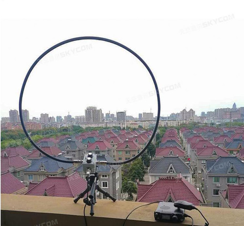QRP loop antenna which covers 7MHz-30Mhz, 144MHz-148MHz, 430-440MHz, It is good for 5w CW or 10w SSB.