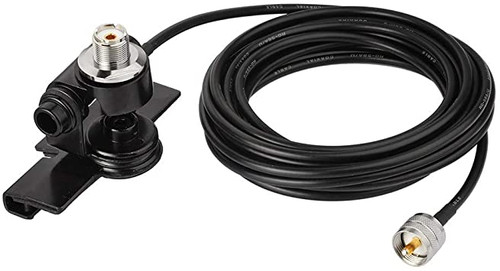 Antenna Lip Mount with 5m Coax Cable