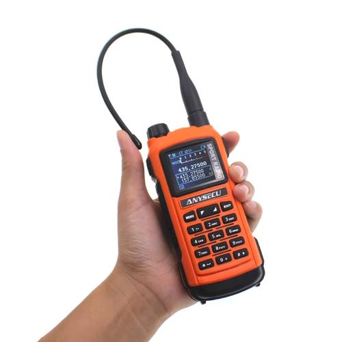 Anysecu AC-580 (SenHaix 8800, Radioddity GS-5B) Bluetooth Programming Handheld Ham Radio Dual Band with Dual PTT, USB Charging, S-Meter, Rainproof Two Way Radio