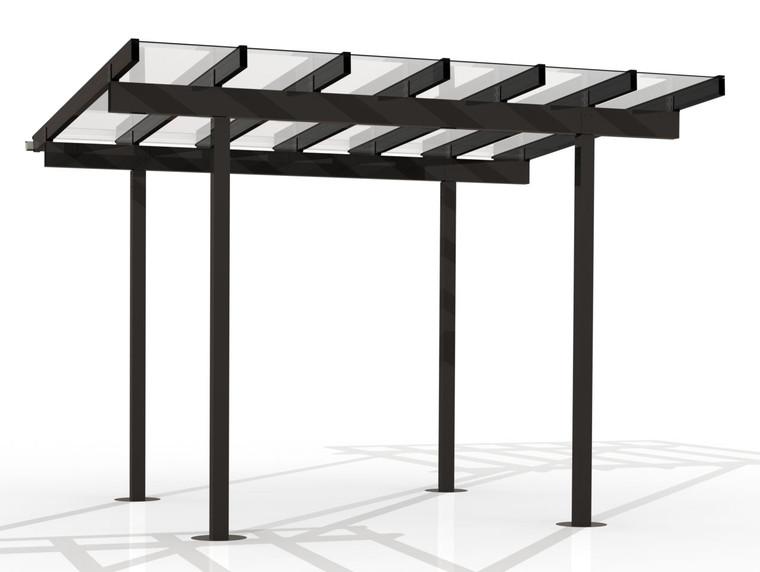 Kitset Pergolas - 3.646m wide, 6 panels