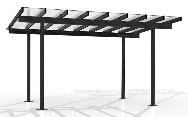 Kitset Pergolas - 4.846m wide, 8 panels