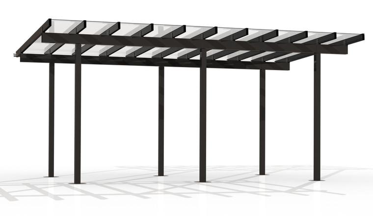 Kitset Pergolas - 6.046m wide, 10 panels