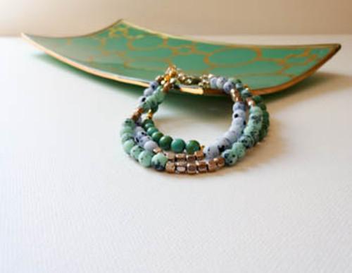 Shades of Blue Bracelets