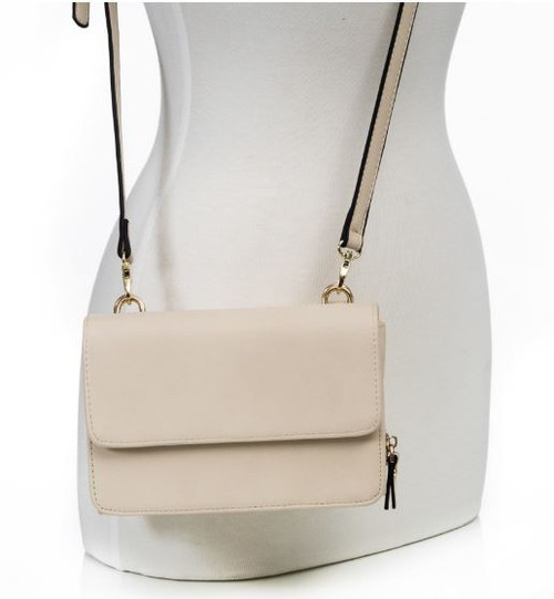 Convertible Crossbody (Beige)