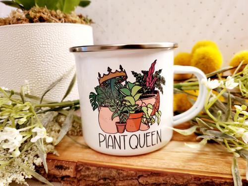 Plant Queen Camp Mug
