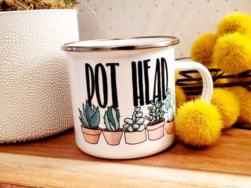 Pot Head Camp Mug